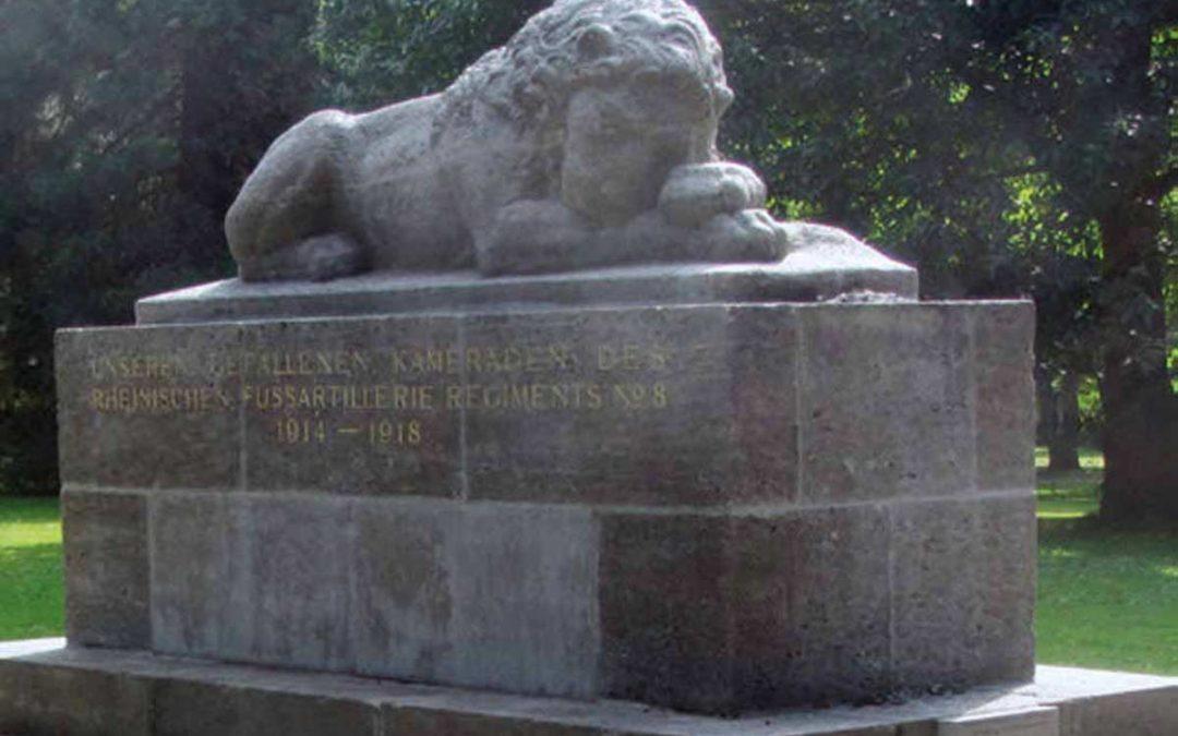 4.12 Stadtgarten / Löwendenkmal