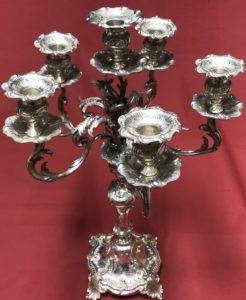 Girandole in Silber
